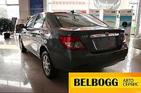 Накладка крышки багажника (хром) тюнинг BYD F3, Бид Ф3, Бід Ф3