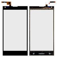 Touchscreen (сенсорный экран) для Doogee DG550, оригинал (черный)