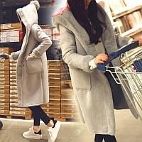 2016 зимние новые ягнят шерсти пальто женщин длинный участок рыхлой толстый хлопок одежда корейской версии с капюшоном замша пальто