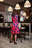 Модное цветочное платье , фото 2