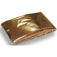 Спасательное одеяло Rescue blanket gold/silver