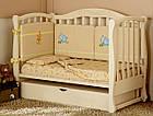 Детская кроватка Prestige 5 с комодом пеленатором VIP, фото 2