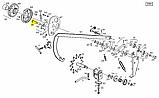 Палець собачки включення приводу в'язального апарату прес-підбирача Famarol Z-511 8245-511-007-595, фото 6