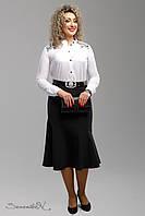 Стильная юбка женская 52-58, доставка по Украине