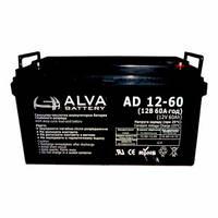 Гелевий акумулятор Alva AS 12-60 (12 В 60 А*год)