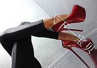 Туфли женские подиумные на ультра высоком каблуке, фото 1