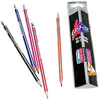 "Графитные карандаши ""MARCO"" с ластиком № 9001Е"