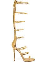 Сандалии женские, в римском стиле, высокий каблук, фото 1