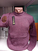 Мужской молодежный приталенный свитер 46-50рр