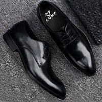 Новый Мужской бизнес платье обувь Англии указал кружева мужские кожаные ботинки свадебные туфли обувь одного дышащие ботинки прилива