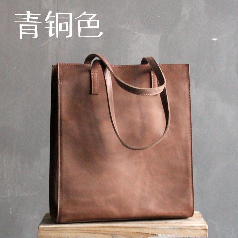 8333d587f484 Оригинальный square кожа минималистский сумка женская большая Европа и  Америки 17 цветов - Интернет-магазин