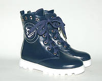 Детская обувь демисезонная GFB арт.50-2 т.синий.роза (Размеры: 33-38)