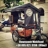 """Велотележка для велокофейни """"Old Europe""""(ВТ-2), фото 6"""