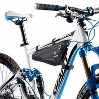 Подрамная велосипедная сумка Front Triangle Bag 1.6L Black