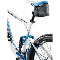 Подседельная велосипедная сумка Bike Bag IV 1.3+0.3L Black