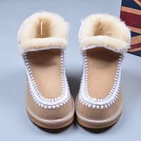 Женская обувь, ботиночки, снегоступы, на меху, овчина, теплые зимние, фото 1