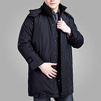 Куртка мужская длинная теплая, фото 1