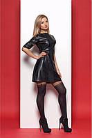 Черное платье оригинального дизайна