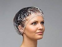 Полиэтиленовая шапочка одноразовая для душа 100шт