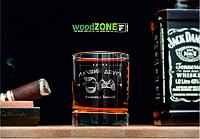 Именной стакан для виски «Другу-геймеру»