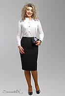 Стильная юбка женская 50-56, доставка по Украине