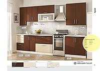 Изготовление кухни под заказ вариант 028 фасад мдф фреза мыло
