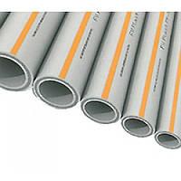Труба полипропиленовая PP-RCT HOT— Диаметр (d) 32 мм - Толщина стенки 4,4 мм — FV-Plast (Чехия)