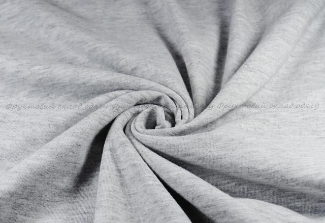 Серо-лиловая мужская мягкая футболка