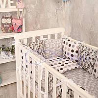 Набор в детскую кроватку Baby Design геометрия (6 предметов), фото 1