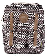 Отличный рюкзак c отделением для ноутбука NATIONAL GEOGRAPHIC Society, N07103;74 черно-белый, 20 л.