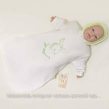 Конверт для новорожденных  девочек.  Возраст 0-5 мес.1460gerda. В наличии 68 Рост, фото 2