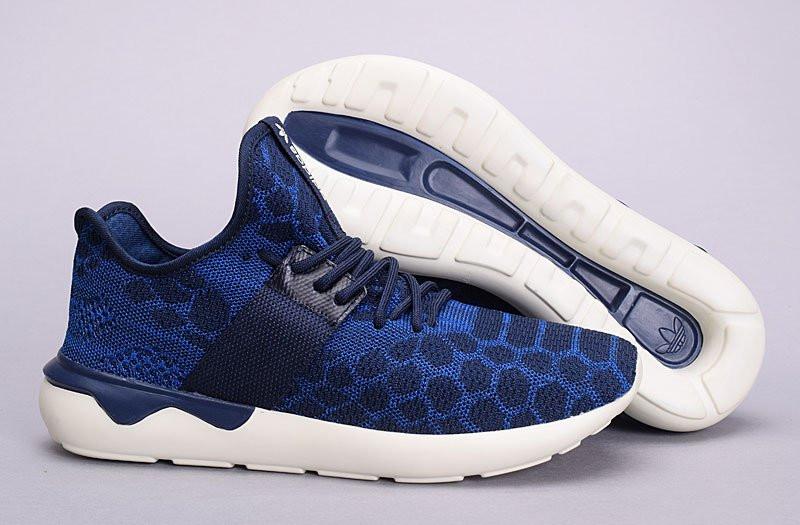 buy popular 7c27f 95ede Adidas Tubular Runner Primeknit Stone Blue   кроссовки мужские  летние   синие - BOOT CLUB