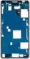 Передняя панель корпуса (рамка дисплея) Sony D5833 Xperia Z3 Compact Mini White