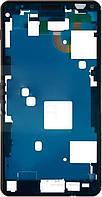 Передняя панель корпуса (рамка дисплея) Sony D5833 Xperia Z3 Compact Mini Black