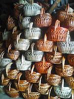 Корзины из лозы оптом Украина, фото 1