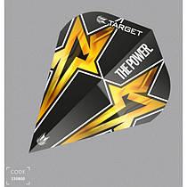 Оперения Target Power Star  100 микрон Оперения Target Power Star Black Vapor S Gen 3 Vision