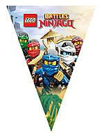 """Гирлянда вымпелы """"Ninjago"""". Длина: 2,5 метра."""