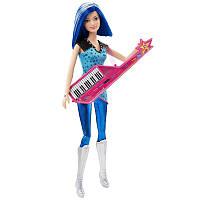 """Лялька Барбі """"Барбі Зія з синтезатором"""" із серії 'Рок-Принцеса, Barbie. Кукла Барби Зия с клавишной гитарой."""