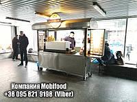 Торговая стенд из нержавеющей стали для кофейни и фаст фуда (ТТС-1), фото 1