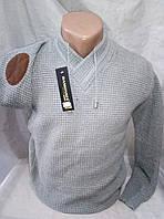 Молодежный мужской приталенный джемпер 44- 46рр