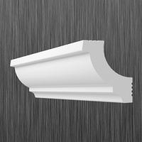 Плинтус потолочный багет Киндекор Z-35  (30*30)