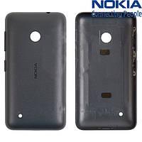 Задняя панель корпуса для Nokia Lumia 530, черная, оригинал