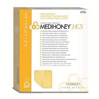 Derma Sciences Medihoney® HCS (гидроколоидив С Антибактериальным Медом). Размер 6 х 6 см