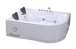 Гідромасажна ванна акрилова Iris TLP-631 L 1800х1200х660