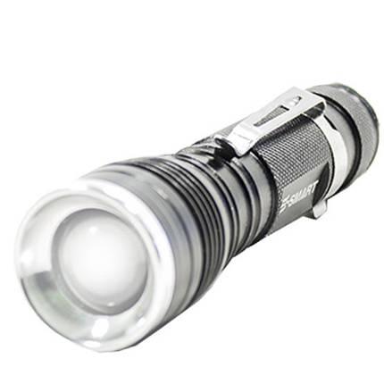 Фонарь ручной светодиодный E-SMART B3XPE (Черный) походный туристический яркий такитический от аккумулятора , фото 2