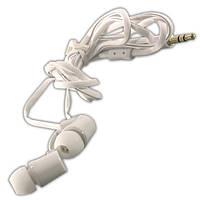 Наушники AIYALE A37 (Белый) вакуумные для телефона самсунга гелекси айфона iphone galaxy samsung