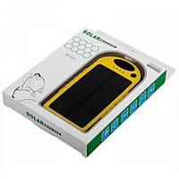 Солнечная зарядка Power bank 5000 mah