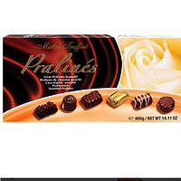 Набор шоколадных конфет Maitre Truffout Pralines, 400 гр.