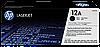 HP Q2612A № 12A картридж лазерный оригинальный черный