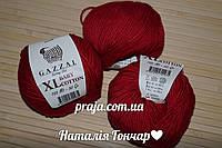 Gazzal cotton Baby XL -3439 темно червоний